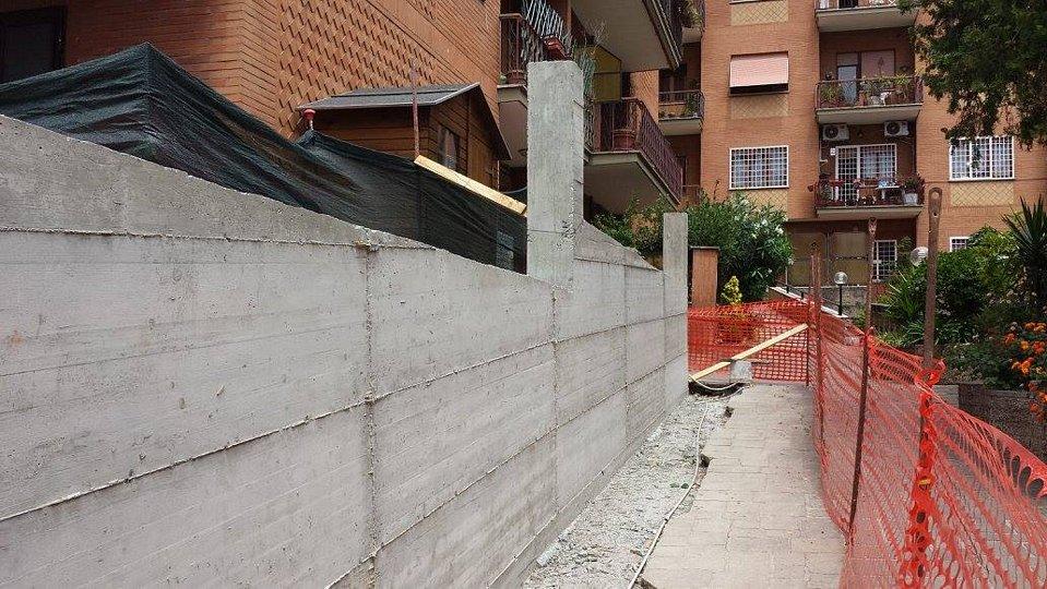 Manutenzione condominio quartiere Gianicolense a Roma.