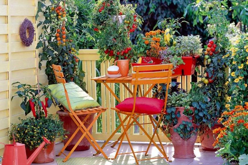Idee Per Arredare Il Patio : Idee per arredare il balcone di casa