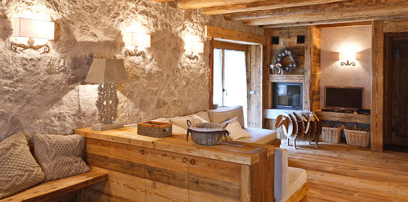 Ristrutturare una casa in montagna in modo funzionale e for Arredamento case moderne foto