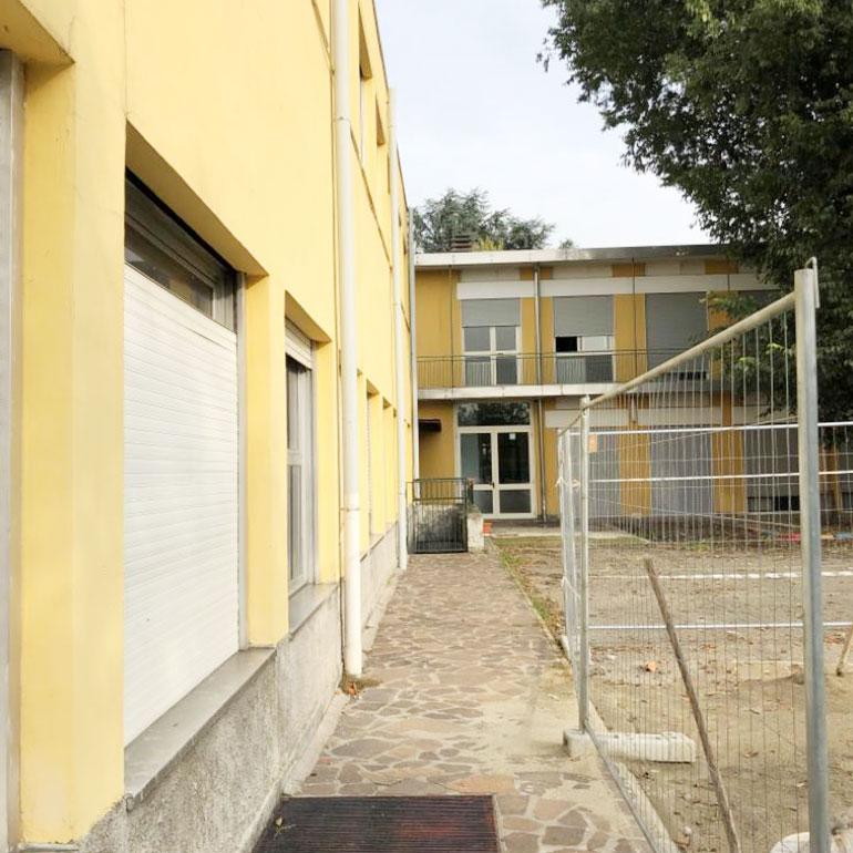 Adeguamento sismico per la scuola primaria Michelangelo Buonarroti a Monza.