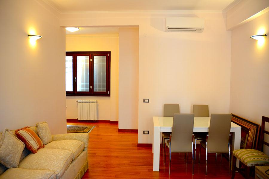 Ristrutturazione residenziale di un appartamento a Roma quartiere Montesacro.