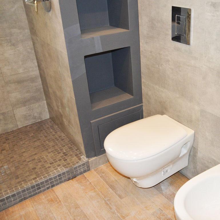 Ristrutturazione residenziale di un appartamento di 70 mq a Roma.