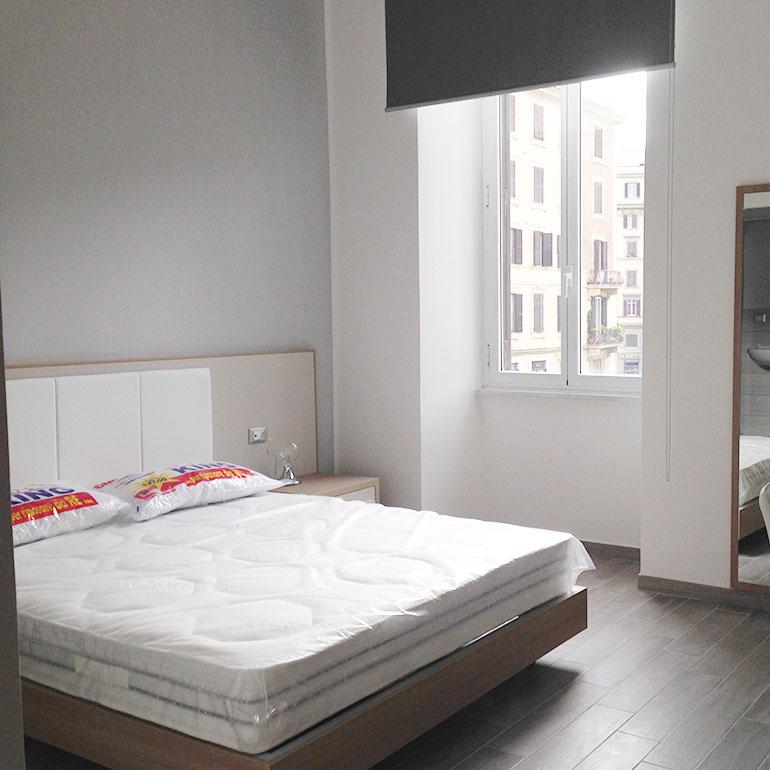 Trasformazione di un appartamento a Roma in un Bed and Breakfast.