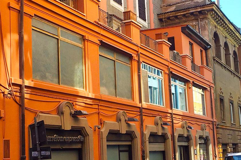 Ristrutturazione e manutenzione condominio via del viminale a Roma.