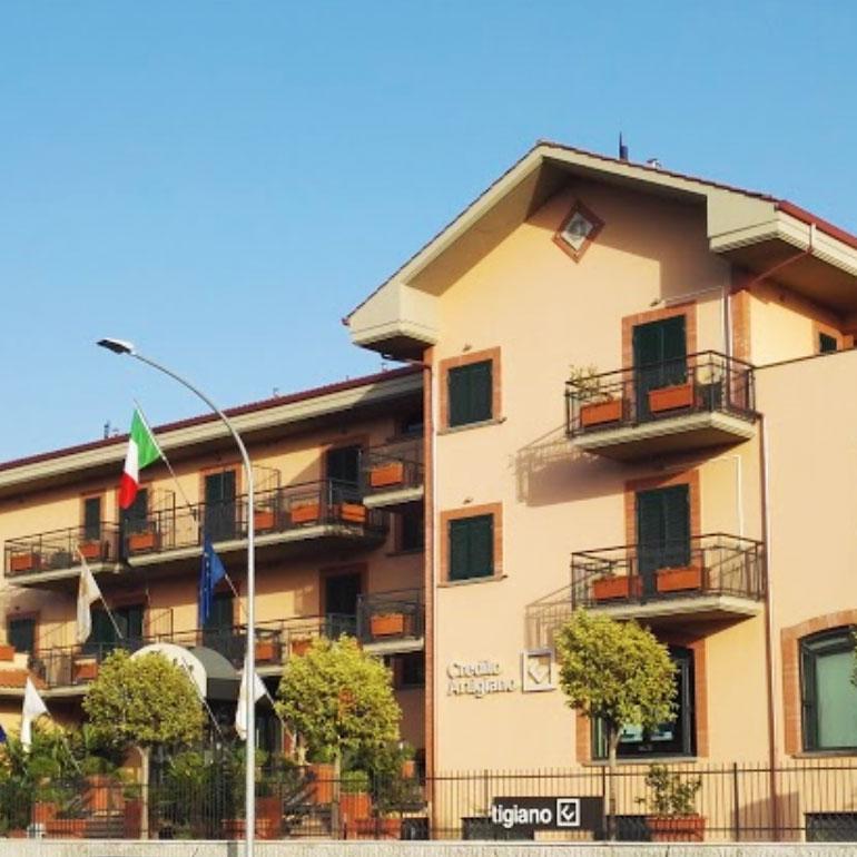 Brick progetta e costruisce l'OC Hotel Roma.