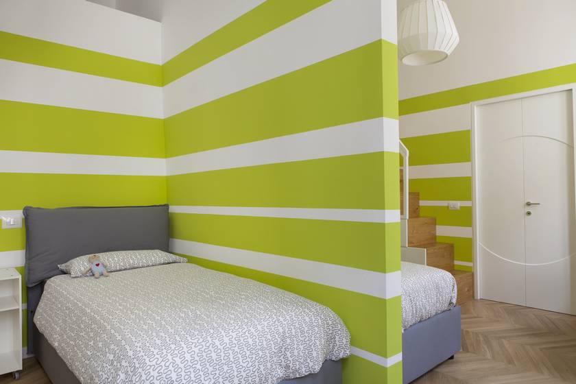 Ristrutturazione residenziale appartamento di 130 mq a Roma quartiere Nomentano.