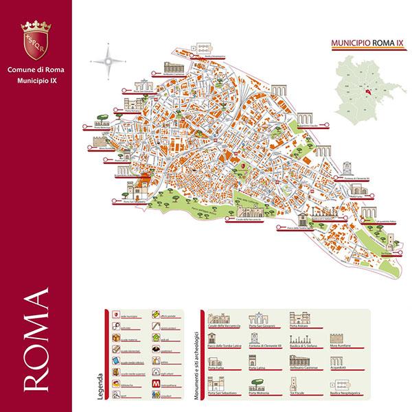 Manutenzione IX Muncipio del Comune di Roma.