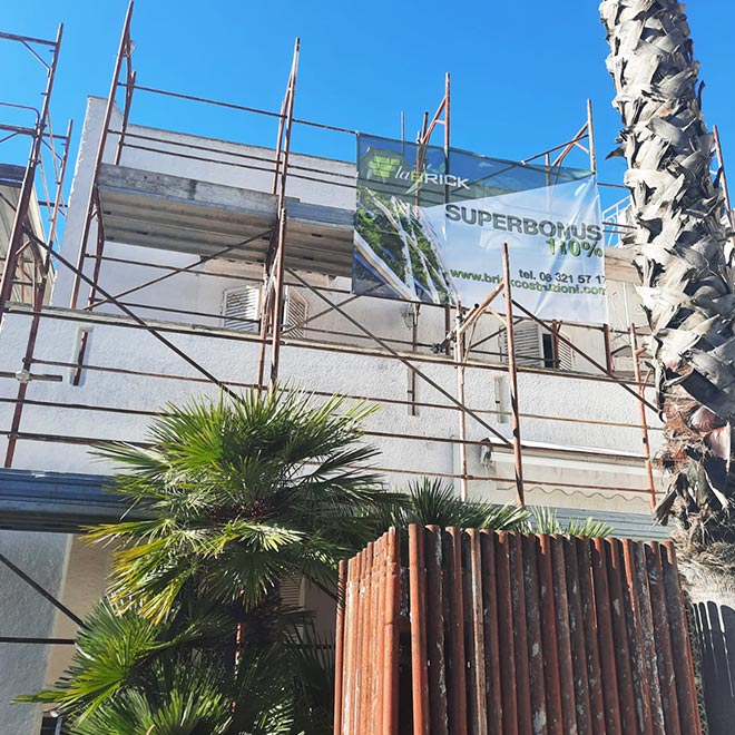 Ristrutturazione Superbonus 110% di una Villa a Terracina.